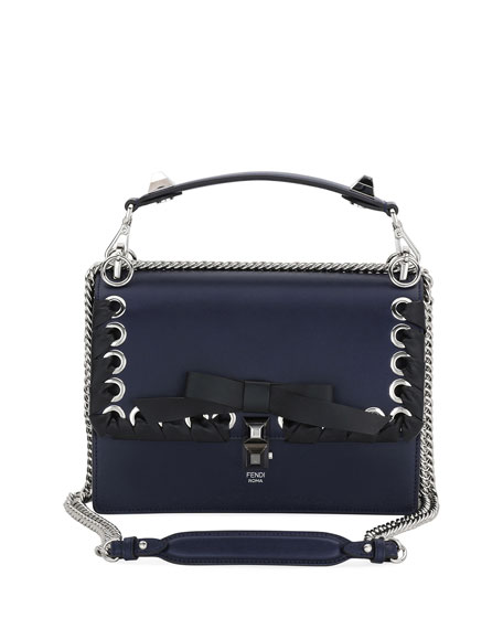 Fendi Kan I Regular Liberty Calf Shoulder Bag