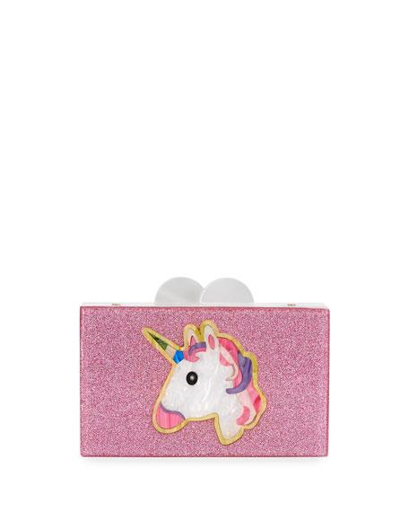 Bari Lynn Elizabeth Sutton Unicorn Believe Acrylic Box