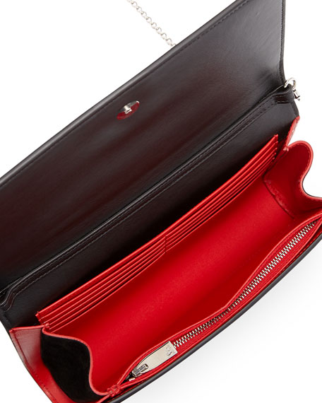 Paloma Love-Embellished Suede Clutch Bag