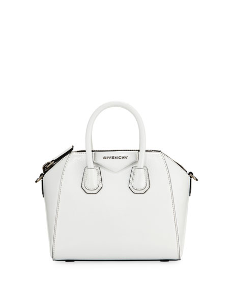 Antigona Mini Deerskin Satchel Bag by Givenchy