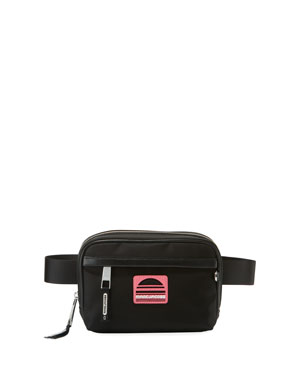 710129ddc7 Marc Jacobs Sport Square Nylon Fanny Pack Belt Bag