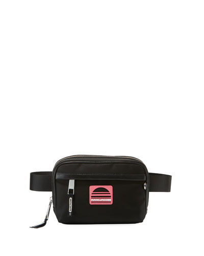 Sport Square Nylon Fanny Pack/Belt Bag