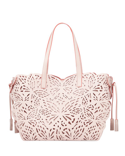 Liara Butterfly Tote Bag