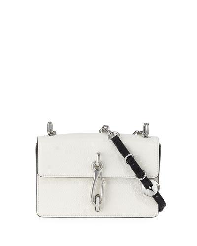 Hook Medium Leather Shoulder Bag