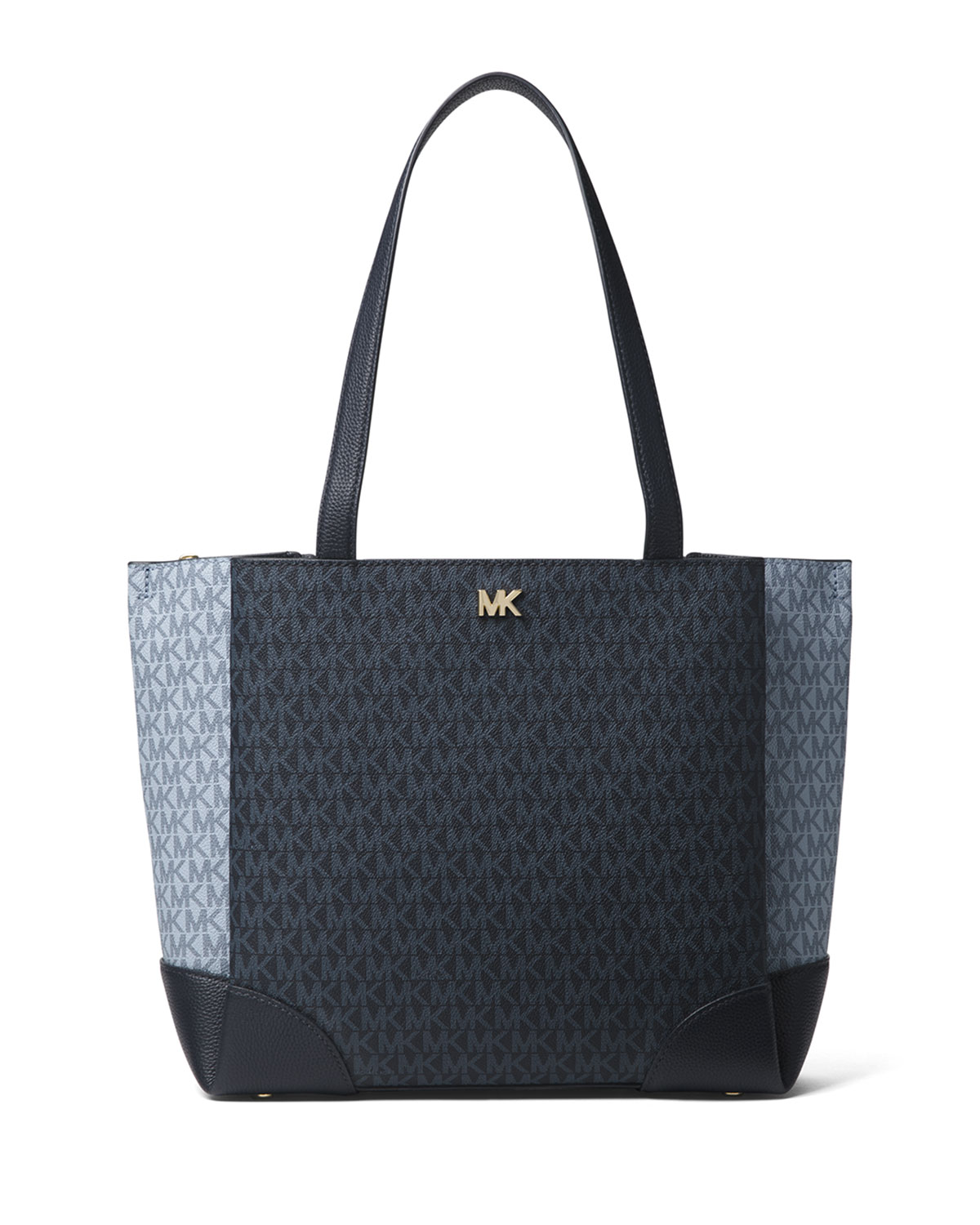 497cfa4d2e65 MICHAEL Michael Kors Gala Medium Colorblock Logo Shoulder Tote Bag ...