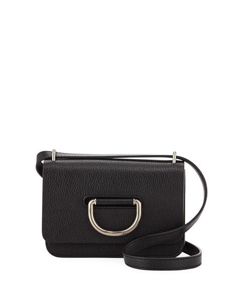 Burberry Mini D-Ring Leather Crossbody Bag