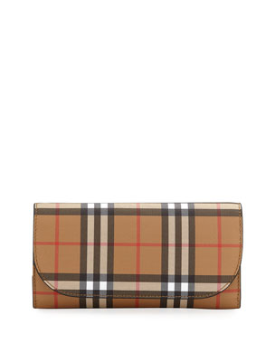 476b34f885e Burberry Vintage Check Crossbody Wallet on Chain