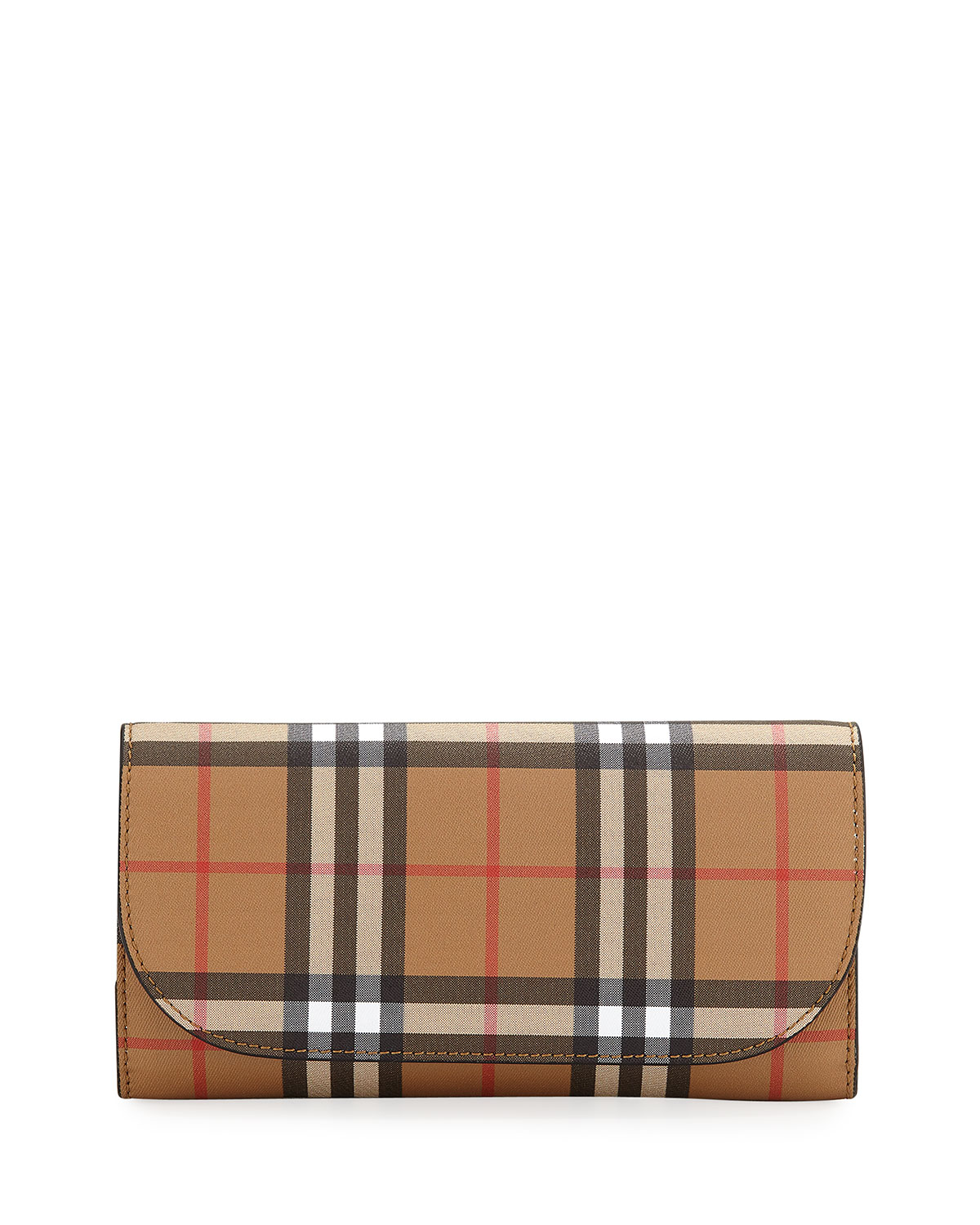 7899c4497248 Burberry Vintage Check Crossbody Wallet on Chain