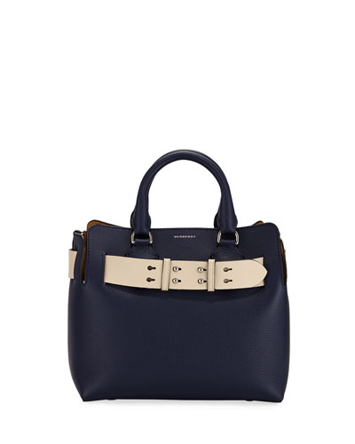 Marais Small Leather Satchel Bag