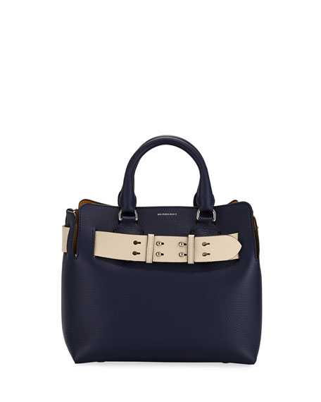 Burberry Marais Small Leather Satchel Bag