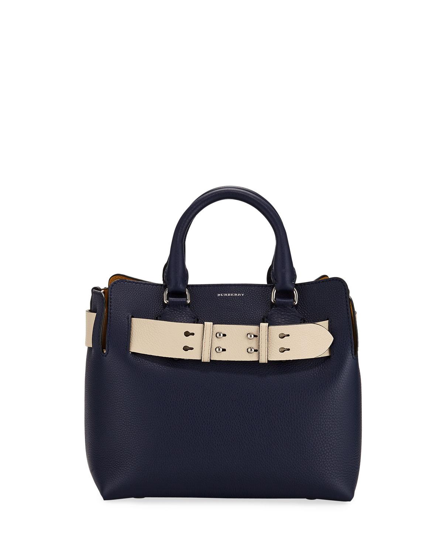 Burberry Marais Small Leather Satchel Bag  335447298b9f1