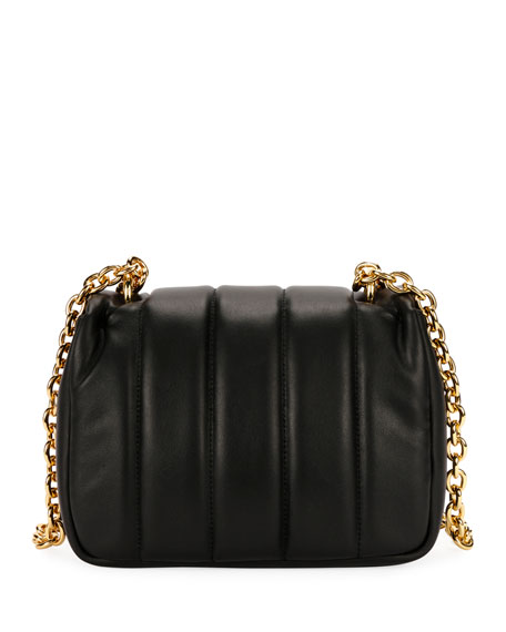 Natalia Matelassé Leather Large Shoulder Bag