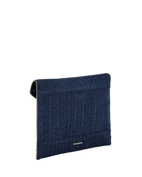 Leo Pearly Envelope Clutch Bag