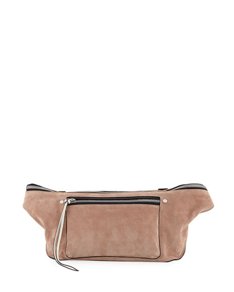 Large Elliot Suede Fanny Pack