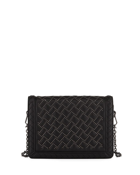 Montebello Microstud Crossbody Bag