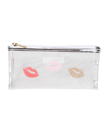 Moya Lips Medium Avery Bag, Silver
