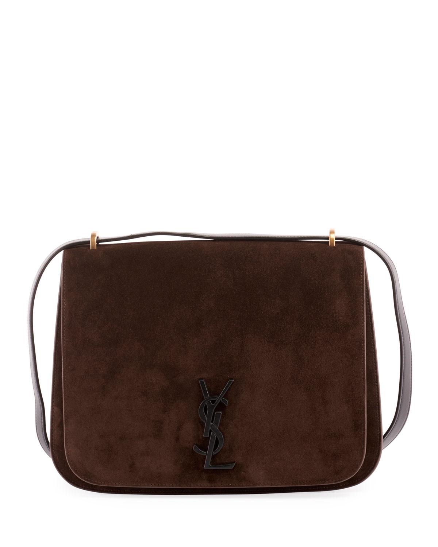 e993163caf Saint Laurent Monogram YSL Spontini Medium Satchel Bag