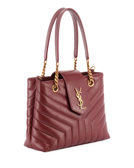Monogram Loulou Small Quilted Leather Tote Bag - Lt. Bronze Hardware