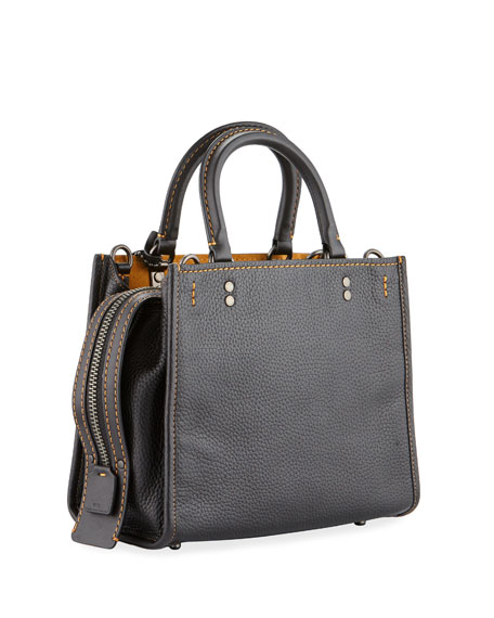 Rogue 25 Pebbled Leather Tote Bag