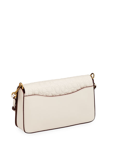 Signature Leather Dinky Crossbody Bag