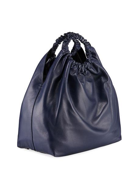 Double Circle XL Napa Crossbody Bag