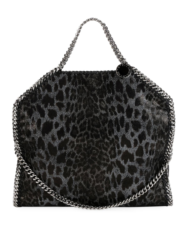 1f3639c49e Stella McCartney Falabella 3-Chain Leopard Tote Bag