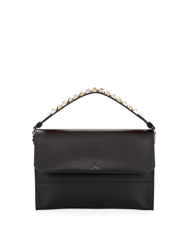 953fd0dc7cb6 Christian Louboutin Loubiblues Paris Calf Clutch Bag