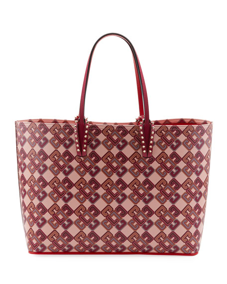 Cabata Calf Paris LoubiX Tote Bag