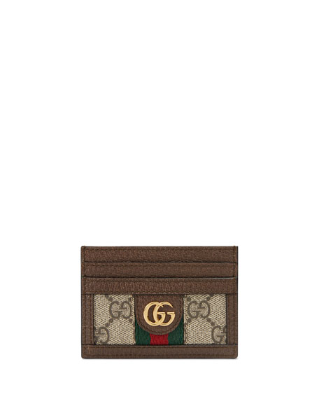 Ophidia GG Supreme Card Case