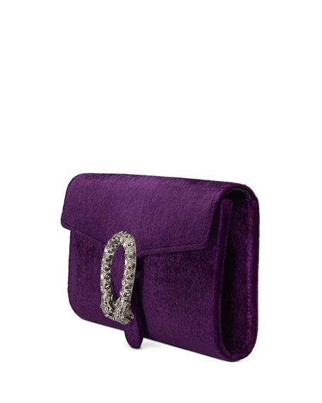 Dionysus Velvet Clutch Bag