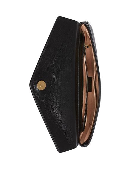 Gucci Thiara Python Double Envelope Shoulder Bag