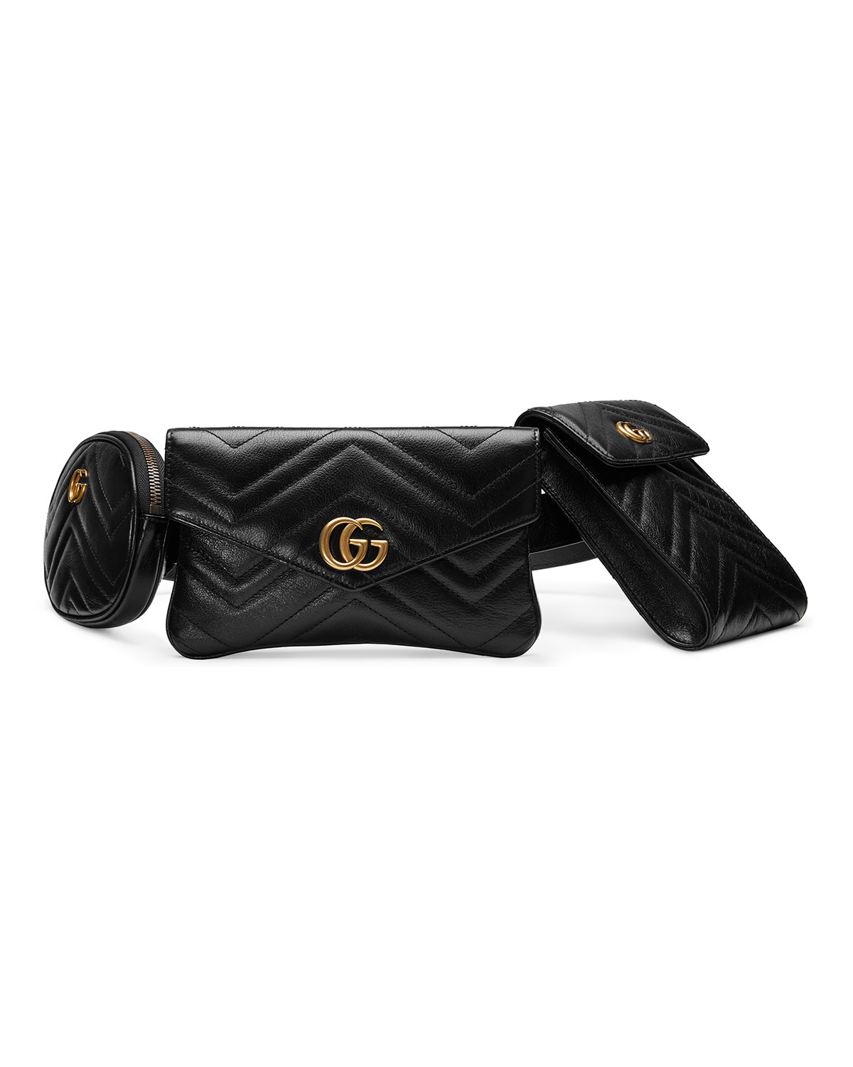 d700bf4bcc27 Gucci GG Marmont 2.0 Multi Belt Bag/Fanny Pack | Neiman Marcus
