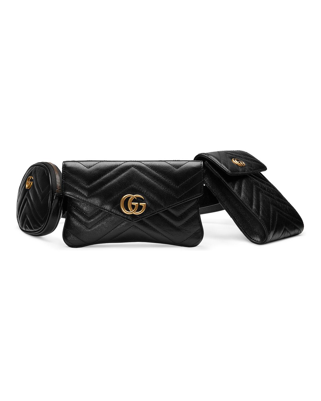 cb5f9292fa29 Gucci GG Marmont 2.0 Multi Belt Bag/Fanny Pack | Neiman Marcus