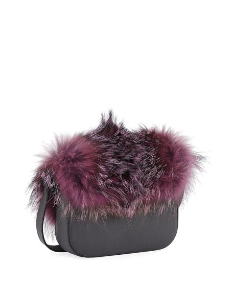 Fox Fur and Monili Mini City Bag