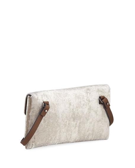 City Suede Crossbody Bag