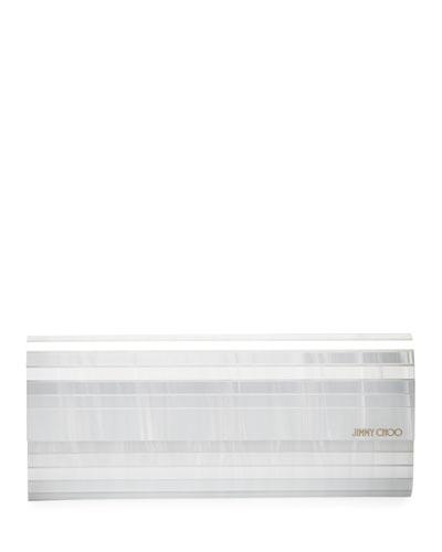 Sweetie Pearlized Acrylic Clutch Bag