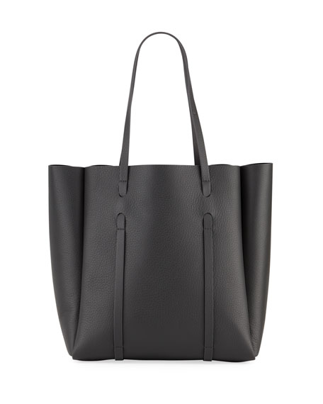 Everyday Small Leather Logo Tote Bag