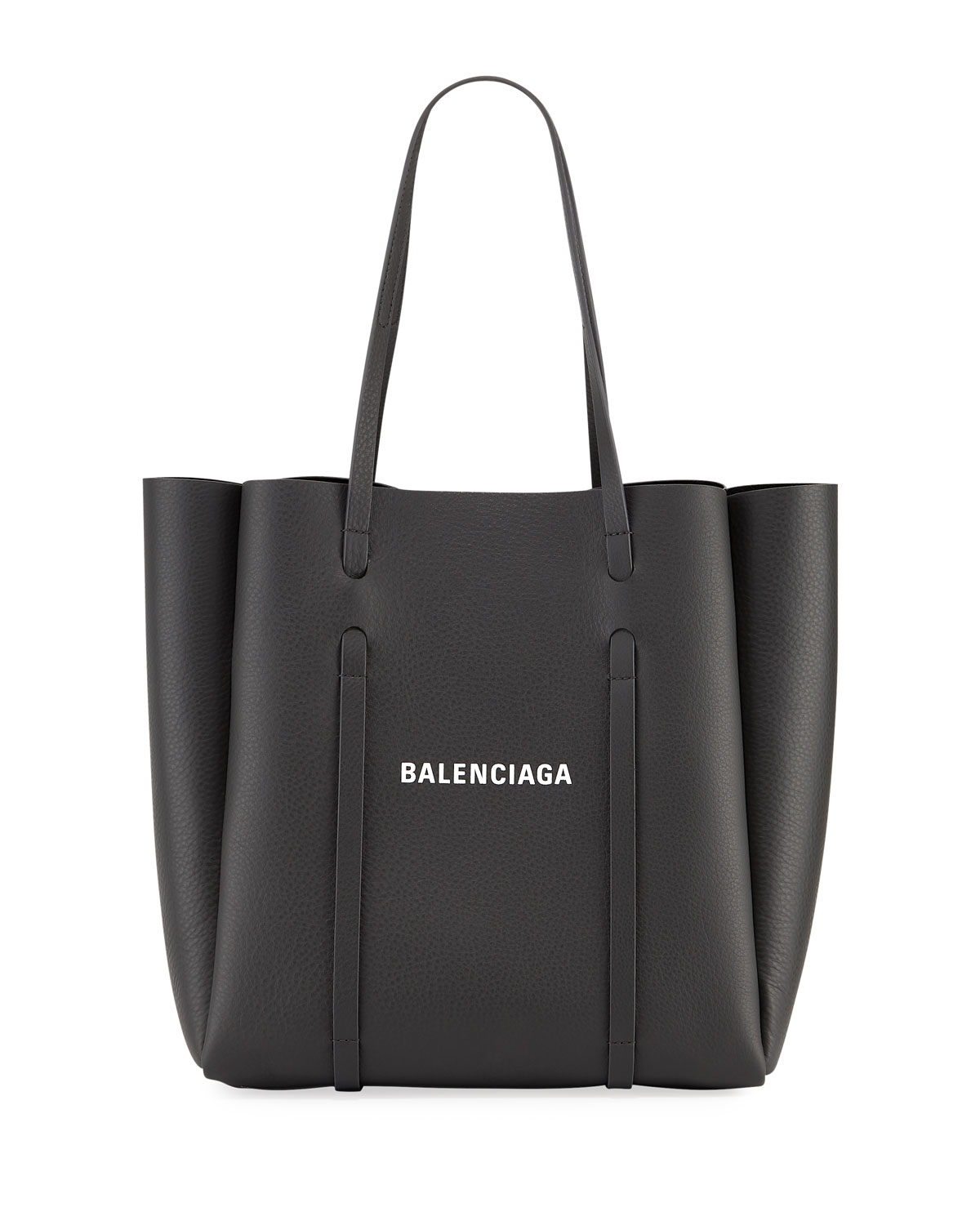 8534a4715433 Balenciaga Everyday Small Leather Logo Tote Bag