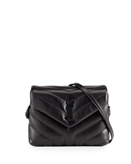 1c13af2d7d7f6 Saint Laurent Loulou Toy Monogram Ysl Quilted Shoulder Bag