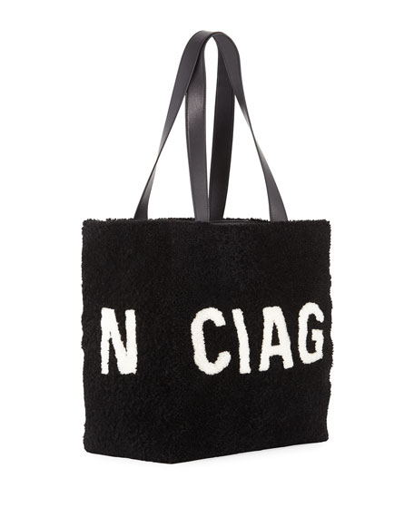 972add34466c Image 3 of 4  Shearling Logo Tote Bag
