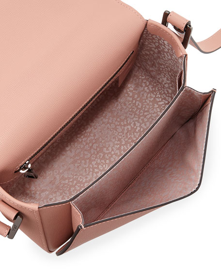 Le Pliage Heritage Leather Crossbody Bag
