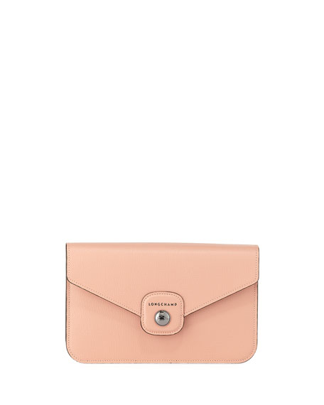 Longchamp Le Pliage Heritage Wallet On A Chain