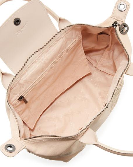 Le Pliage Cuir Tattoo Small Satchel Bag