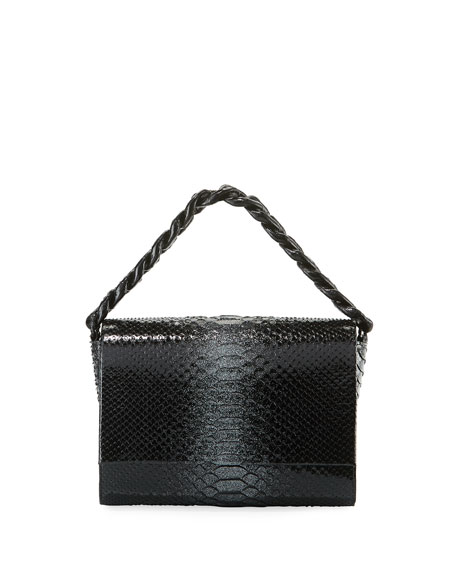 Nancy Gonzalez Carrie Crocodile and Python Clutch Bag