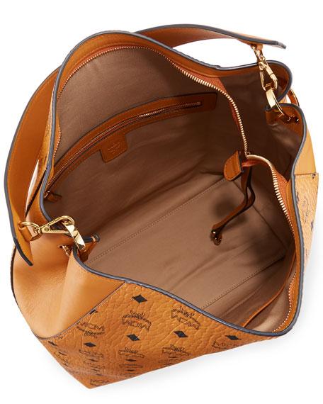 Klara Large Leather Hobo Bag