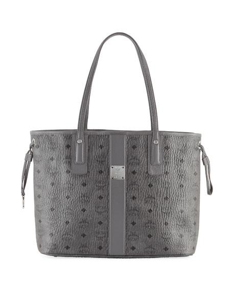 MCM Liz Reversible Medium Visetos Shopper Tote Bag
