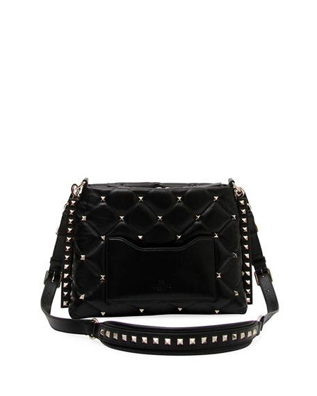 Candystud Quilted Leather Shoulder Bag