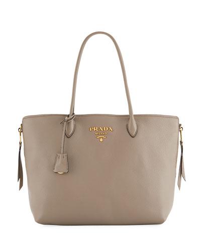 Daino Top-Handle Shopper Tote Bag