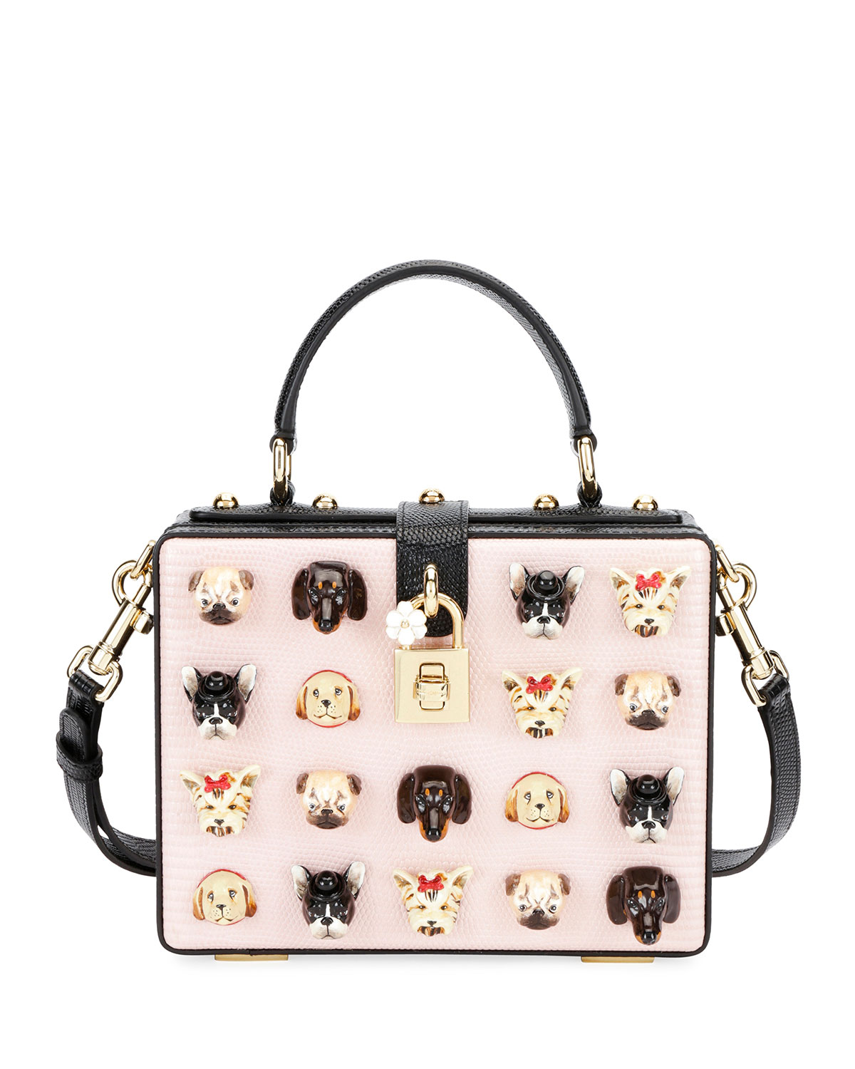 0e86621f373 Dolce   Gabbana Dolce Box Puppies! Shoulder Bag
