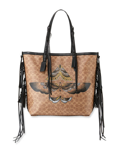 Tattoo 34 Signature Canvas Tote Bag